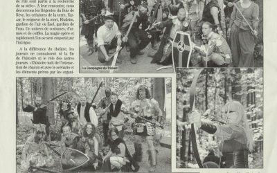 Journal de Moudon – Le monde de Brumes dans le Bois des Brigands