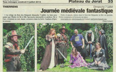 Journal de Moudon – Journée médiéval fantastique