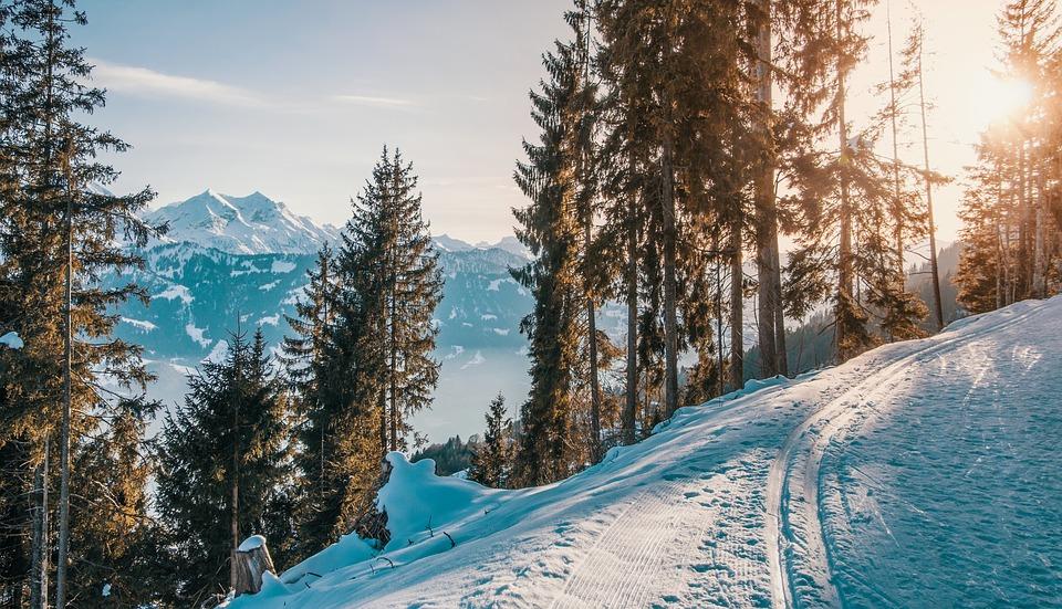 Les Hydreux font du Ski